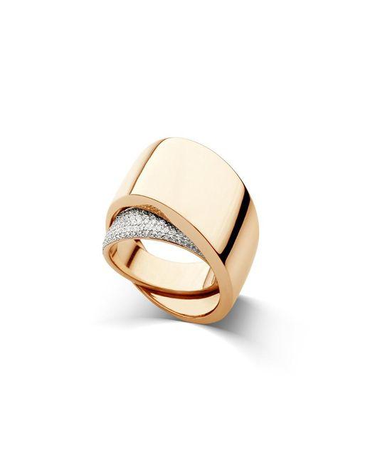 Vhernier - Metallic Tourbillon Ring - Lyst