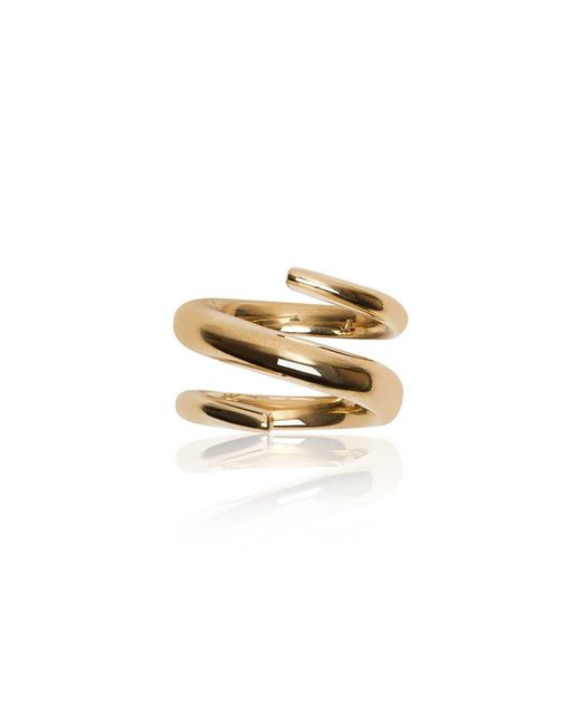 Jennifer Fisher | Metallic Twisted Cylinder Ring | Lyst