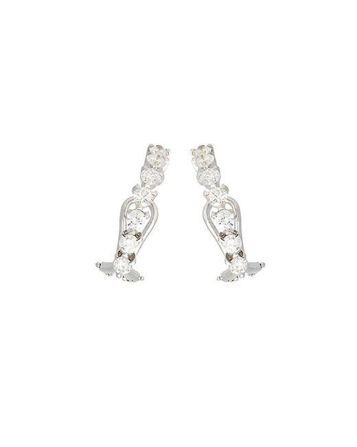Ana Khouri | White Diamond Time Earrings | Lyst