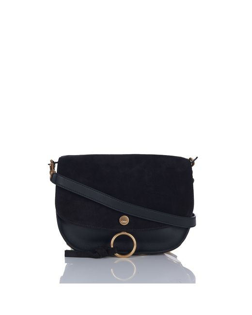 Chloé | Black Kurtis Medium Leather Shoulder Bag | Lyst
