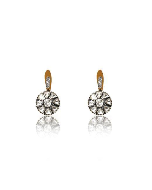 Sanjay Kasliwal | Multicolor Small Diamond Drop Earrings | Lyst