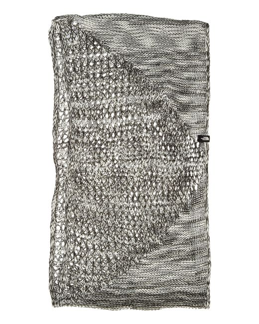 The North Face | Gray Knitting Club Scarf | Lyst