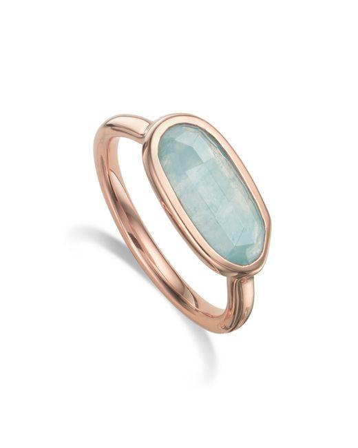 Monica Vinader   Blue Vega Ring   Lyst