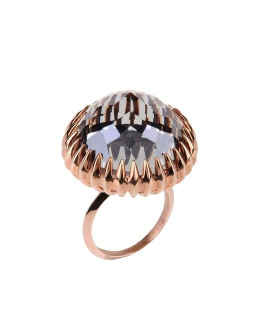 Katie Rowland   Metallic Ring   Lyst