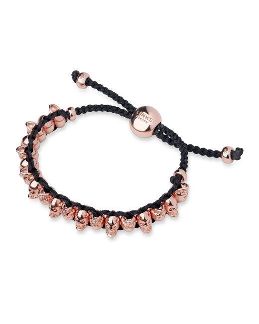 Links of London | Pink Skull Bracelet | Lyst
