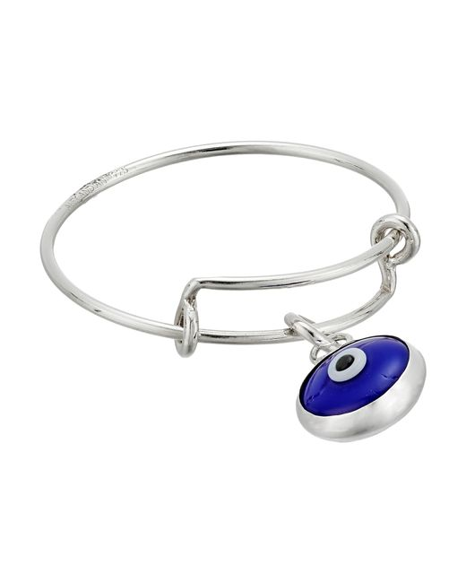 ALEX AND ANI | Metallic Evil Eye Expandable Wire Ring | Lyst
