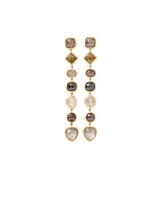 Todd Reed | Pink Fancy Diamond Drop Earrings | Lyst