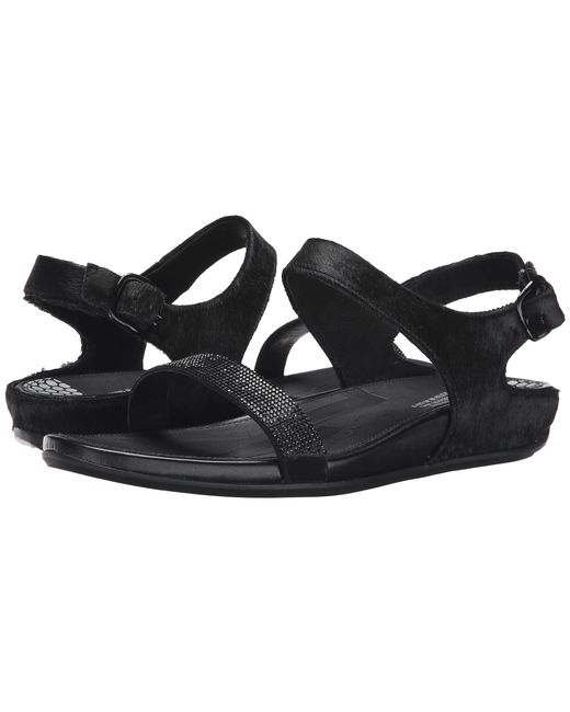 Fitflop | Black Banda Micro-crystal Sandal™ | Lyst