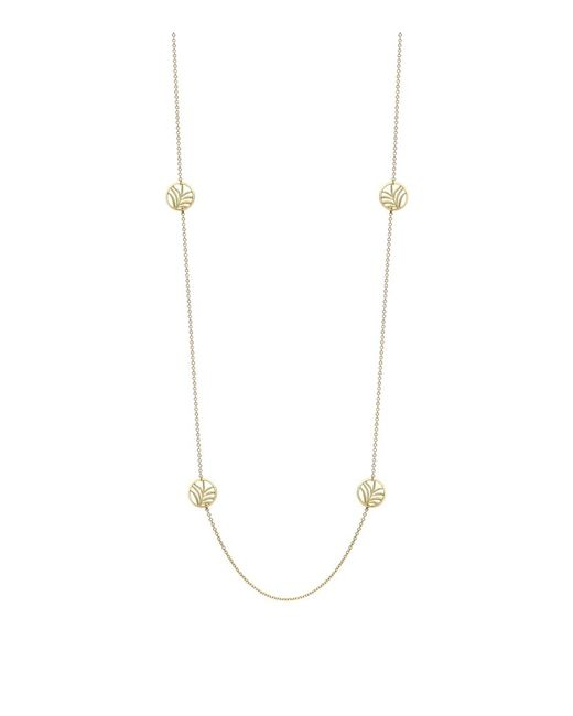 Theo Fennell | Metallic Palm Diamond Disc Necklace | Lyst