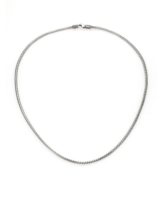 John Hardy | Metallic Classic Chain Sterling Silver Mini Necklace/18 | Lyst