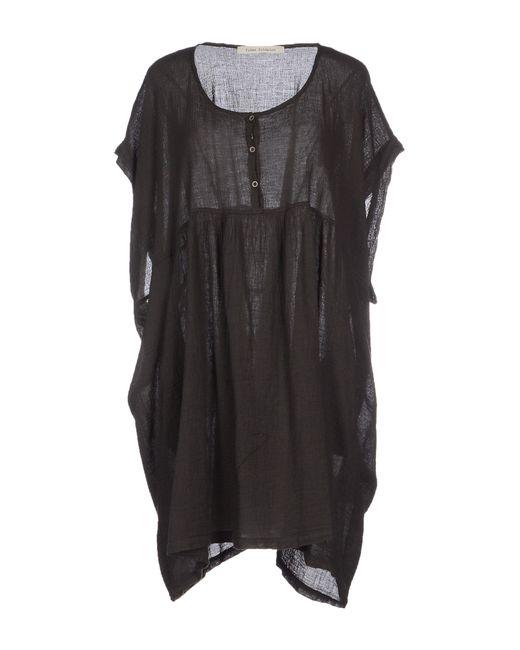Poeme Bohemien | Gray Short Dress | Lyst