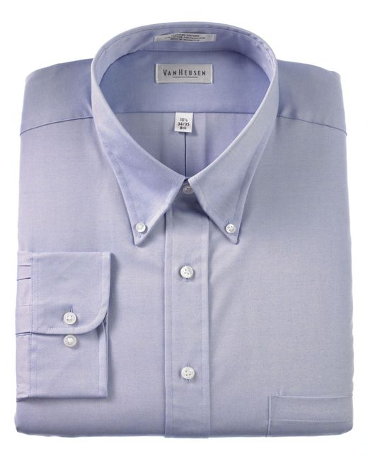 van heusen big and tall easy care pinpoint oxford dress