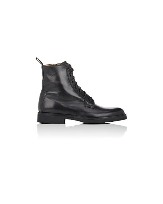 barneys new york s side zip boots in black for lyst