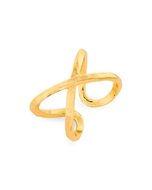 Gorjana | Metallic 'elea' Ring | Lyst