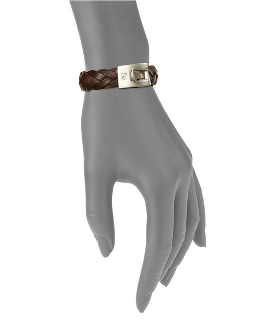 Uno De 50 | Mess Up Brown Leather Bracelet | Lyst