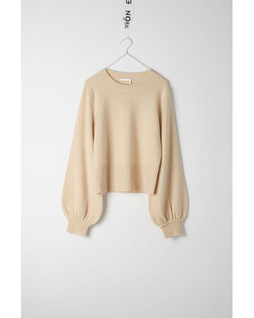 Chloé | Natural Billowy Sweater | Lyst