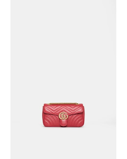 9dfa5c063 Gucci GG Marmont Small Shoulder Bag in Black - Save 18% - Lyst