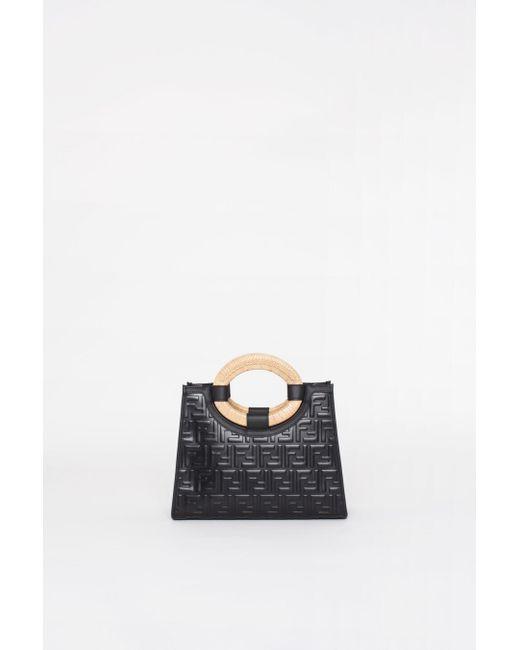 01242df003bb ... Fendi - Black Runaway Small Handbag - Lyst ...