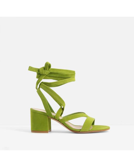 Gianvito Rossi - Green Janis Sandals - Lyst