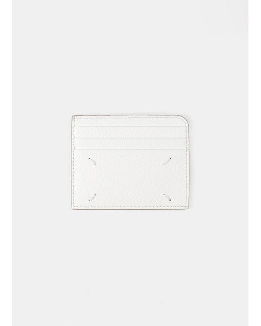 Maison Margiela White Card Holder