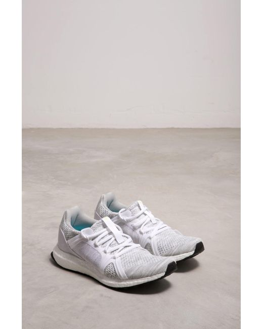 82468b29c10 Adidas By Stella McCartney - White Ultraboost Parley Sneakers - Lyst ...