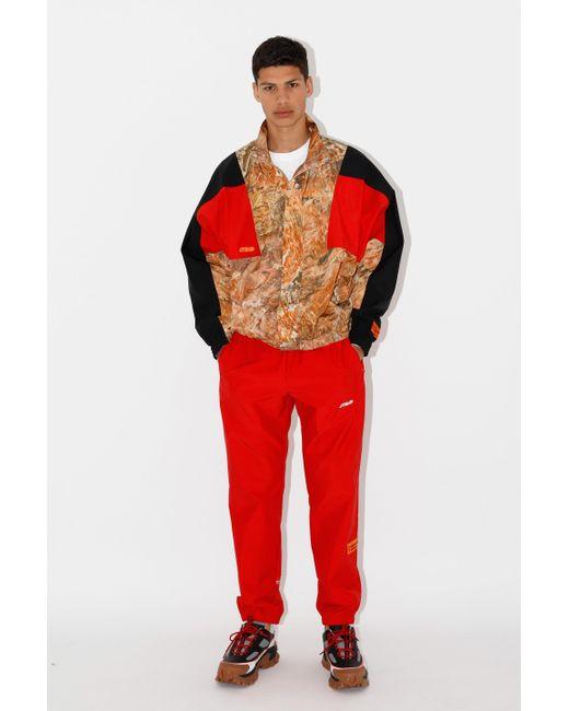Heron Preston Red Men's Sweatpants