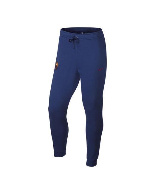 Nike   Blue Fc Barcelona 2017-2018 Trousers for Men   Lyst