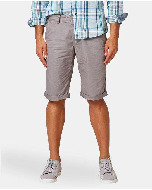 Esprit - Gray Grey Bermuda Shorts for Men - Lyst