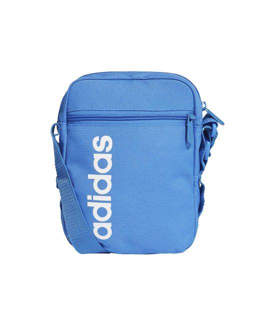 Adidas Blue Linear Core Bag for men