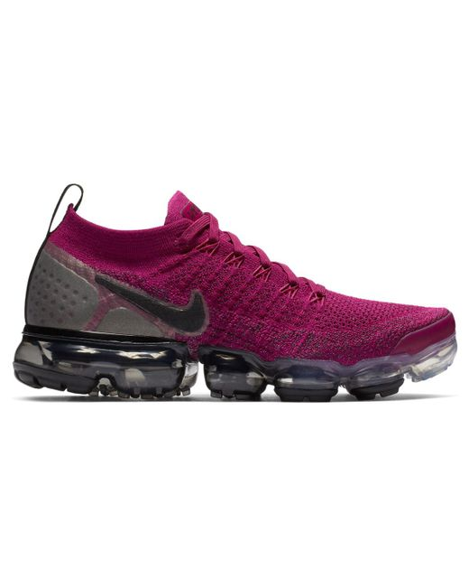 timeless design 4ab3a b5c98 Women's Purple Air Vapormax Flyknit 2 Casual Trainers