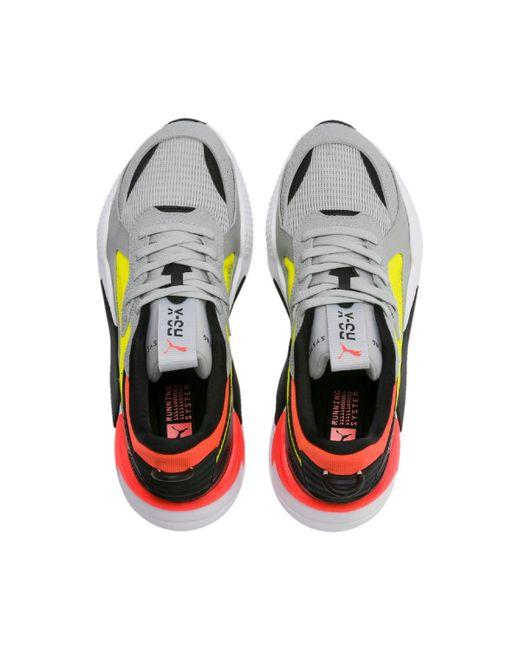 6bf288c7 Men's High Rise Yellow Alert Rs X Hard Drive Sneakers
