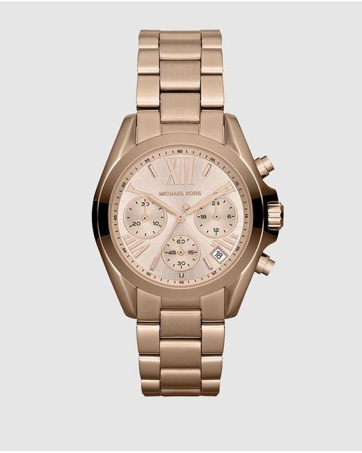 Michael Kors Pink Mk5799 Bradshaw Watch