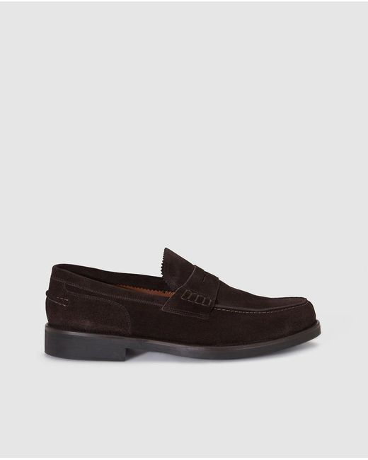 Lottusse | Brown Suede Loafers for Men | Lyst