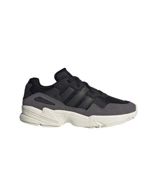Adidas Originals Black Yung-96 Casual Trainers for men