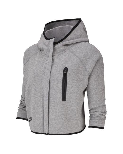 Nike Gray Sportswear Tech Fleece Sweatshirt