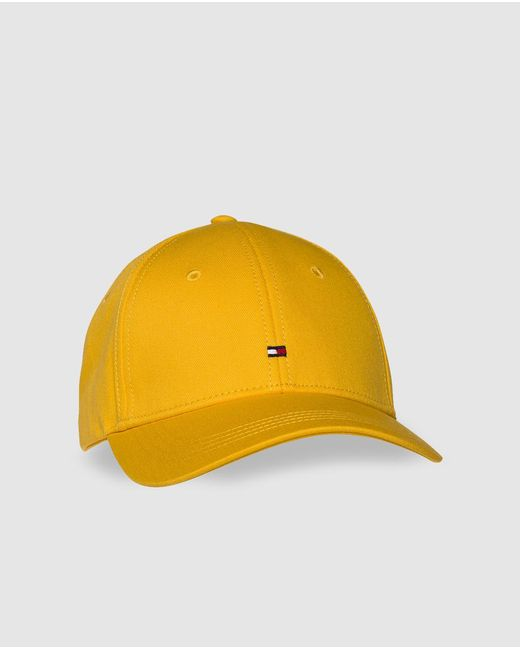 Lyst - Tommy Hilfiger Yellow Cap in Yellow f2ca771678e