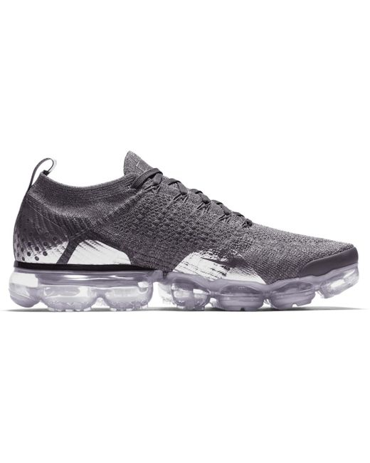 newest 3043d c9896 Men's Gray Air Vapormax Flyknit 2 Casual Sneakers