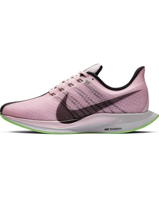3d75dfcd6ad7 ... Nike - Pink Zoom Pegasus 35 Turbo Running Shoes - Lyst ...