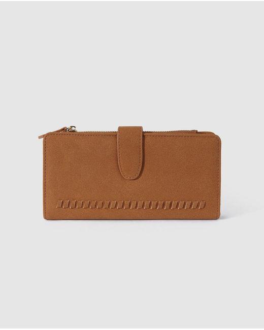 El Corte Inglés Medium Brown Wallet With Fastener