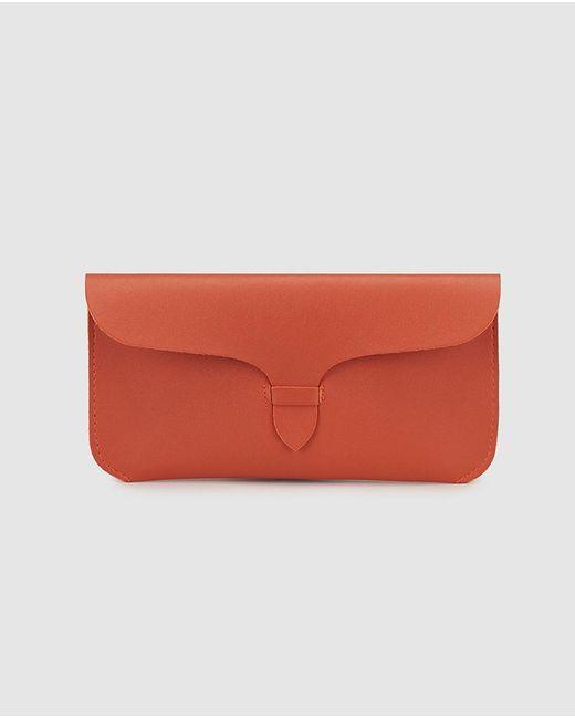 El Corte Inglés Plain Orange Glasses Case