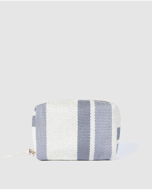 El Corte Inglés Multicolor White Stripe Print Toiletry Bag