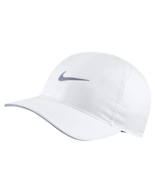 11f5540a79d Nike - White Featherlight Running Cap for Men - Lyst ...