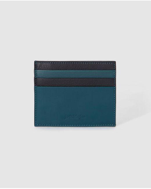 Jo & Mr. Joe - Mens Blue Leather Card Holder for Men - Lyst