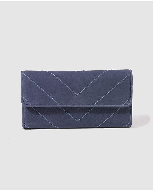 Gloria Ortiz   Midnight Blue Wallet With Space For 12 Cards   Lyst