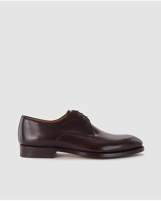 Magnanni Shoes Brown Mens Bluchers for men