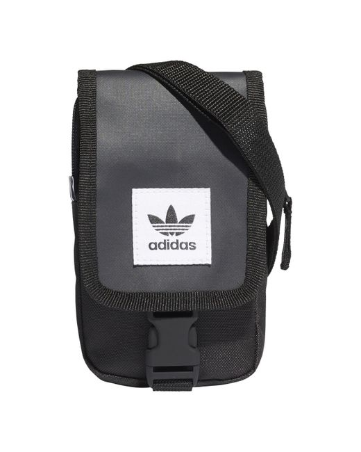 Adidas Originals - Black Bag for Men - Lyst ... 0650532569565