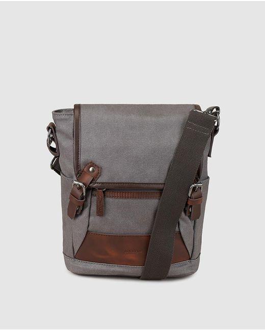 Jo & Mr. Joe | Gray Mens Grey Crossbody Bag With Flap for Men | Lyst