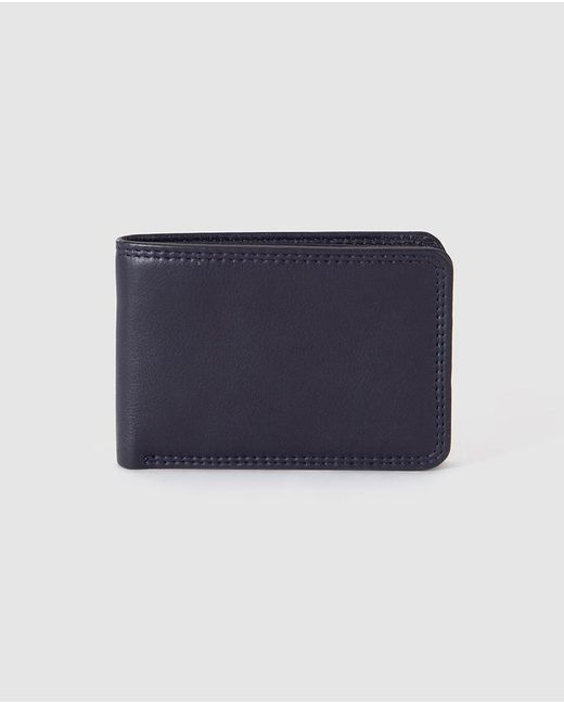 El Corte Inglés - Mens Small Navy Blue Wallet With Coin Pocket for Men - Lyst