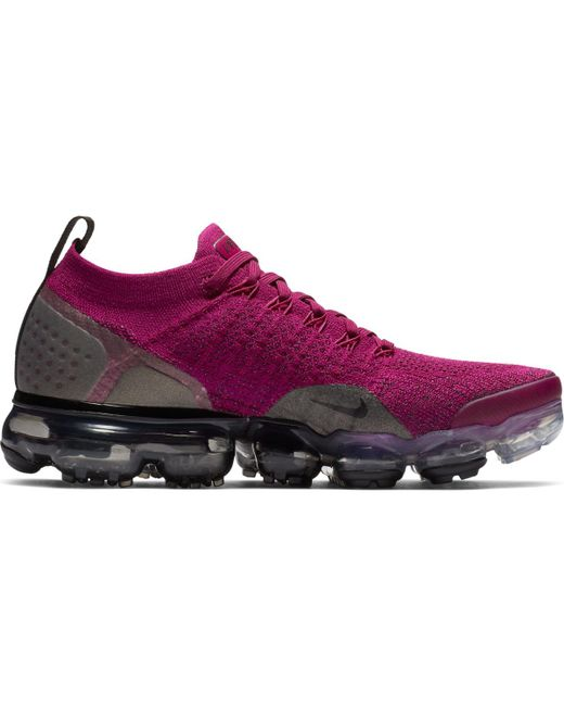 low priced 071ce 7b5b8 Women's Purple Air Vapormax Flyknit 2 Casual Sneakers
