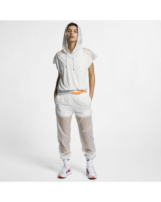 Nike White Sportswear Tech Pack Sweatshirt
